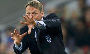 England's manager Stuart Pearce