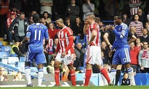 Stoke City's Ricardo Fuller