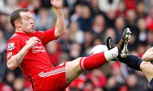 Liverpool's Charlie Adam in action