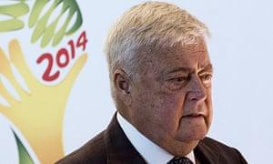 Ricardo Teixeira, president of Brazil's football confederation