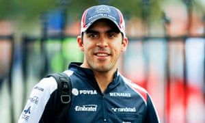 Pastor Maldonado of Williams