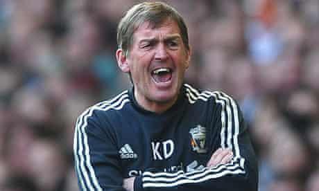 Kenny Dalglish, Liverpool v Wigan Athletic