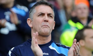 The Bolton manager Owen Coyle