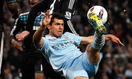 Manchester City's Sergio Agüero