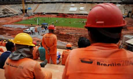 National Stadium. Brazil