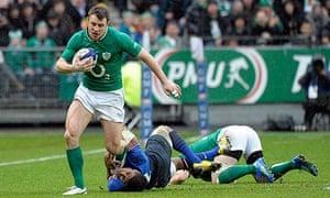 Tommy Bowe Ireland France