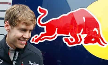 Sebastian Vettel of Red Bull