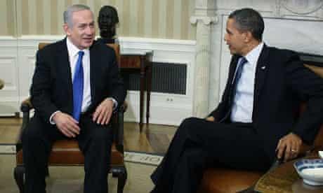 Binyamin Netanyahu and Barack Obama