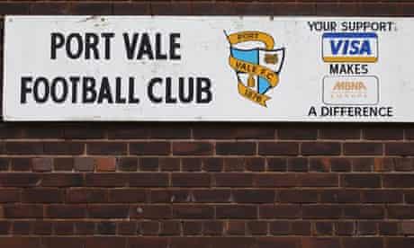Port Vale owe the council £1.8m