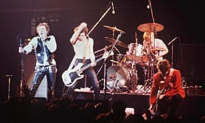 The Sex Pistols performing in 1978