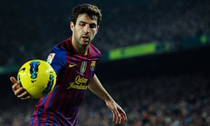 Cesc Fábregas scored 14 goals in his first 23 games for Barcelona
