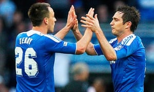 John Terry, Frank Lampard Chelsea