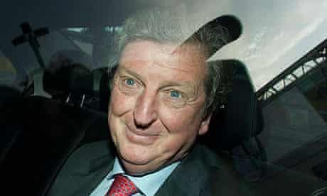 Roy Hodgson leaves Wembley Stadium