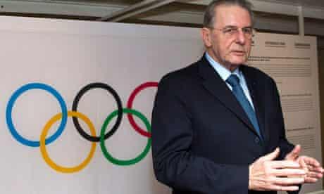 Jacques Rogge, IOC president
