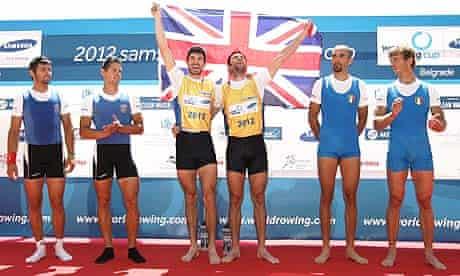 2012 Samsung World Rowing Cup I - Day Three