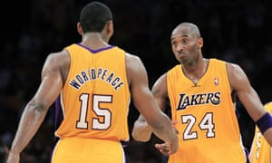 6c7244e8114 Metta World Peace and LA Lakers set up NBA playoff reunion with ...