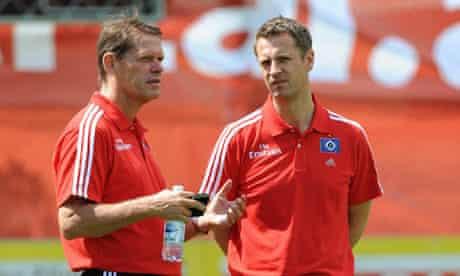 Frank Arnesen and Lee Congerton