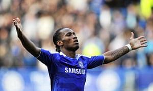 Didier Drogba is leaving Chelsea