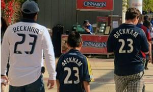 LA Galaxy: Beckham shirts