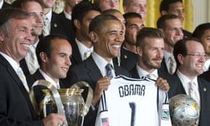 Barack Obama and LA Galaxy