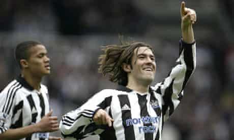 Hugo Viana in Newcastle colours