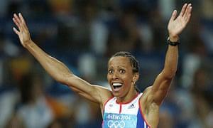 Kelly Holmes Athens Olympics