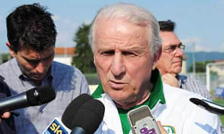 Giovanni Trapattoni of Ireland
