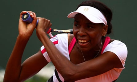 Venus Williams at French Open