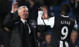 Alan Pardew Newcastlel United