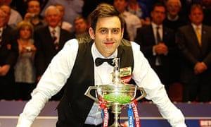 Ronnie O'Sullivan World Championship