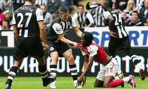 Newcastle United FC vs Arsenal FC