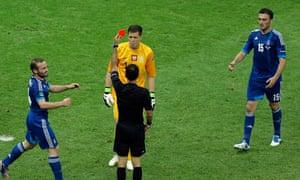 9aed0d45a1d Euro 2012  Poland s Wojciech Szczesny suspended for one match ...