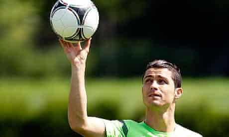 Cristiano Ronaldo has had more shots at Euro 2012 than the entire England team