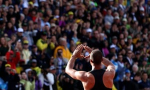 Ashton Eaton in Eugene, Oregon for USA Track & Field trials