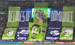 Seattle Sounders Decades Banner