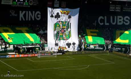 Portland Timbers King of Clubs banner