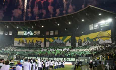 Portland Timbers Army banner