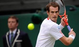 Andy Murray at Wimbledon 2012