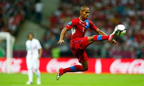 Theodor Gebre Selassie was the subject of monkey chants from Russian fans