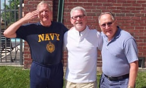 Brothers in arms: Wayne, Rick and Bob