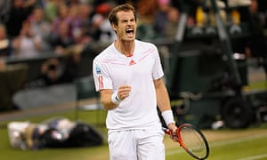 Andy Murray was not at his best against Marcos Baghdatis but ran out the victor