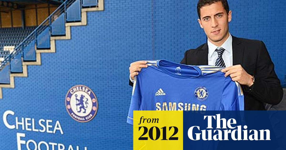 pretty nice 23934 9cf8c Eden Hazard chooses Chelsea for chance of a regular first ...