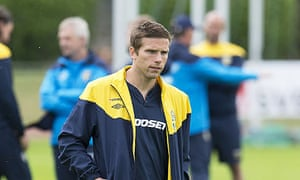 Anders Svensson, the Sweden midfielder, is appreciated by the fans again