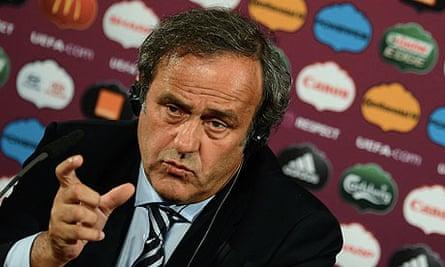 UEFA press conference