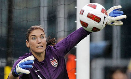 London 2012 Olympics  US women s goalkeeper warned over positive test 8545cc978d