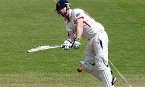 Steven Croft made an unbeaten 104 for Lancashire against Surrey