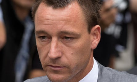 John Terry leaves court after being found not guilty of racially abusing Anton Ferdinand