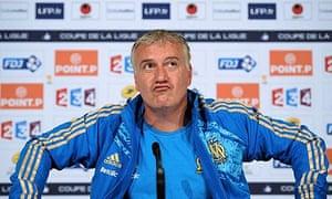 Olympique Marseille coach Didier Deschamps