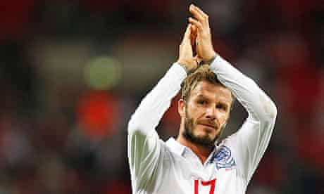 David Beckham is not in the Team GB squad