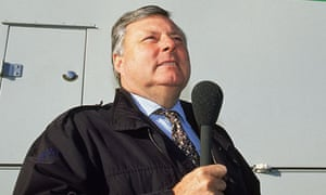 BBC commentator Peter Alliss